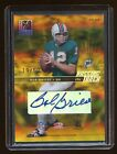 2004 ELITE PASSING THE TORCH DUAL AUTO 50 BOB GRIESE LARRY CSONKA DOPHINS HOF