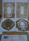 Anna Griffin Cuttlebug BAROQUE FRAME Cut  Embossing Dies Set with Mat NEW