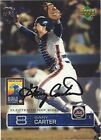 2003 Upper Deck Hawaii Conference Gary Carter New York Mets Signed Card