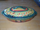 Tabletops Unlimited Gallery LA PROVINCE 3 Qt Oval Covered Casserole w Lid 13 in
