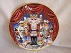Fitz & Floyd Nutcracker Sweets Charming Christmas Holiday Ornate Plate Dish RARE