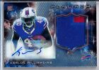 2015 Topps Platinum Football Cards - Review Added 12