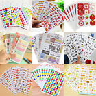 DIY Calendar Paper Sticker For Scrapbooking Diary Planner Photo Album Decor NT