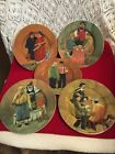 TUSCAN STOREFRONTS ~ BY GUY BUFFET (5) DESSERT/SALAD PLATES /PORCELAIN ~ GERMANY