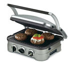 Cuisinart Griddler Gourmet Waffle Maker Grill Removable Plates Deluxe Elite New
