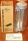 Pampered Chef VALTROMPIA BREAD TUBE PAN Heart #1560 NEW NIB UNUSED COOK EAT BOX