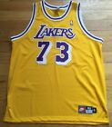 Authentic Nike Dennis Rodman Los Angeles Lakers Jersey Size 52 2xl