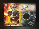 2014 DEREK CARR TOPPS FIRE AUTO #47 50 GAME USED RELIC RC ROOKIE CARD FRAP-DC