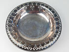 Antique Silver Plate 1896 Footed Reed + Barton Reticulated Bowl