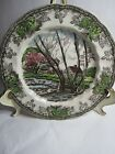 Johnson Bros The Friendly Village Salad Plate, Willow By The Brook Pattern