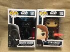Funko Pop Star Wars Rogue One GameStop Darth Vader & Target Exclusive Jyn Erso