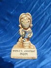1970 Paula Figurine Worlds Greatest Mom W135 Mothers Day Gift Trophy Birthday