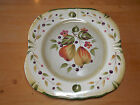 Certified Int'l LA TOSCANA Pamela Gladding Set of 4 Square Dinner Plates 11 in