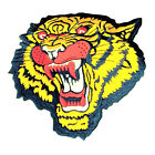 Bengal Tiger Back Patches Wild Animal Embroidered Applique Iron on Jeans Cap Bag