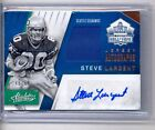 2016 PANINI ABSOLUTE STEVE LARGENT HALL OF FAME AUTOGRAPH AUTO JERSEY #40 50