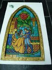 NEW Disney Parks Beauty And The Beast Stained Glass Window Frame