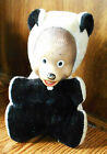 plush animal with character rubber face skunk  VINTAGE