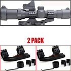 Dual Ring Cantilever Quick Release Reach Rifle Scope Rail Mount 1 30mm 254mm