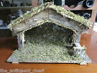 Wooden manger Nativity scene by Enesco Japan 17 x 11 x 7a4