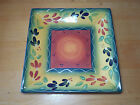 Tabletops Gallery LA PROVINCE Square Dinner & Salad Plate 2 pcs 10 & 8 in