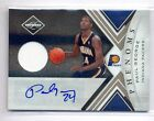 PAUL GEORGE 2010-11 LIMITED ROOKIE RC JERSEY AUTO AUTOGRAPH 48 249 PACERS