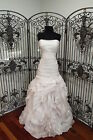 S245W FOREVER YOURS 4985 SZ 12 BLUSH $1550  WEDDING DRESS GOWN