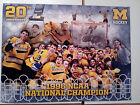 UNIVERSITY OF MICHIGAN HOCKEY 1996 NCAA NATIONAL CHAMPS 20TH ANNIVERSARY POSTER