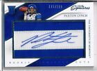2016 Panini Prime Signatures Football Cards - Short Print Info Added 14