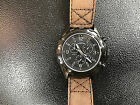 Timex T49986 Men's Expedition Brown Leather Chronograph T499869J Watch WARRANTY