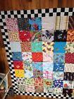 Large I Spy Quilt Top 66 Square 64 Large Blocks