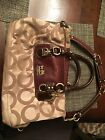 Coach Satchel Tote Handbag Tan Purse Or Best Offer