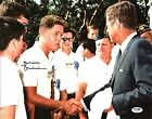 Bill Clinton Authentic Signed 11X14 Photo Meeting John F. Kennedy PSA #AB04419