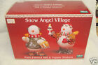 NEW SAKURA  Debbie Mumm Snow Angel VIllage SNOWMAN  5