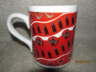 1997 Coca-Cola Gibson Mug Great Condition w/ Coke Bottles Design On Sides