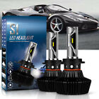 2X AUTOFEEL H4 HB2 9003 1050W 157500LM LED Headlight Kit Hi Lo White Bulbs 6500K
