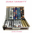 CUBA MIX VARITEY 20 PCS FOR MEN 1.17 OZ / 35 Ml EACH EDT SPRAY NEW IN BOX