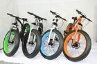 Fat Bike JHI Insanity Extreme 26 X 4 wheels Bicycle with 7 Shimano Gears