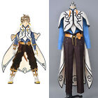 Aselia the Tales of Zestiria X Sorey Cosplay Costume Suit Shirt Robe Cape Outfit