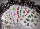 The Paper Studio Stickabilities CHRISTMAS Themed Stickers Adorable Quick Ship