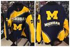 NCAA Michigan Wolverines Warrior Twill Jacket 2016 New with Tags
