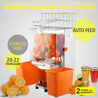Commercial  Citrus Fruit Squeezer Juice Extractor Machine Auto Feed Drink Juicer