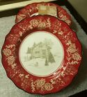222 FIFTH Andover Appetizer Dessert Plate Set of 8 -  NWT