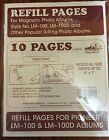 Photo Album Refill Pages - Pioneer LM-100 RLM Magnetic 1 pk 5 pages/10 sides