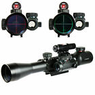 3 9x40 Illuminated Tactical Rifle Optical Gun Scope Red  Green Mil Dot Zoom