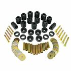 Prothane 1 113 BL Body Mount Bushing 1 Lift Kit Black for 1987 1996 Wrangler YJ