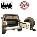 Tuffy Security Products Tailgate Enclosure 11 18 Jeep Wrangler Unlimited 4 Door