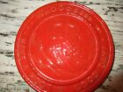 Frankoma Pottery~Trivet~Red~Owl~Have A Hootin Good Day