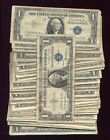 (100) 1935 1957 $1 SILVER CERTIFICATE LOT with star note