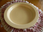 vintage fiesta ivory compartment relish  tray