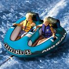 Airhead Mach 2 Cockpit Inflatable Water Tube 2 Rider Boat Tow Towable AHM2 2